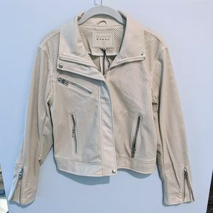 NWT Blank NYC MOTO Jacket, med, faux-vegan leather